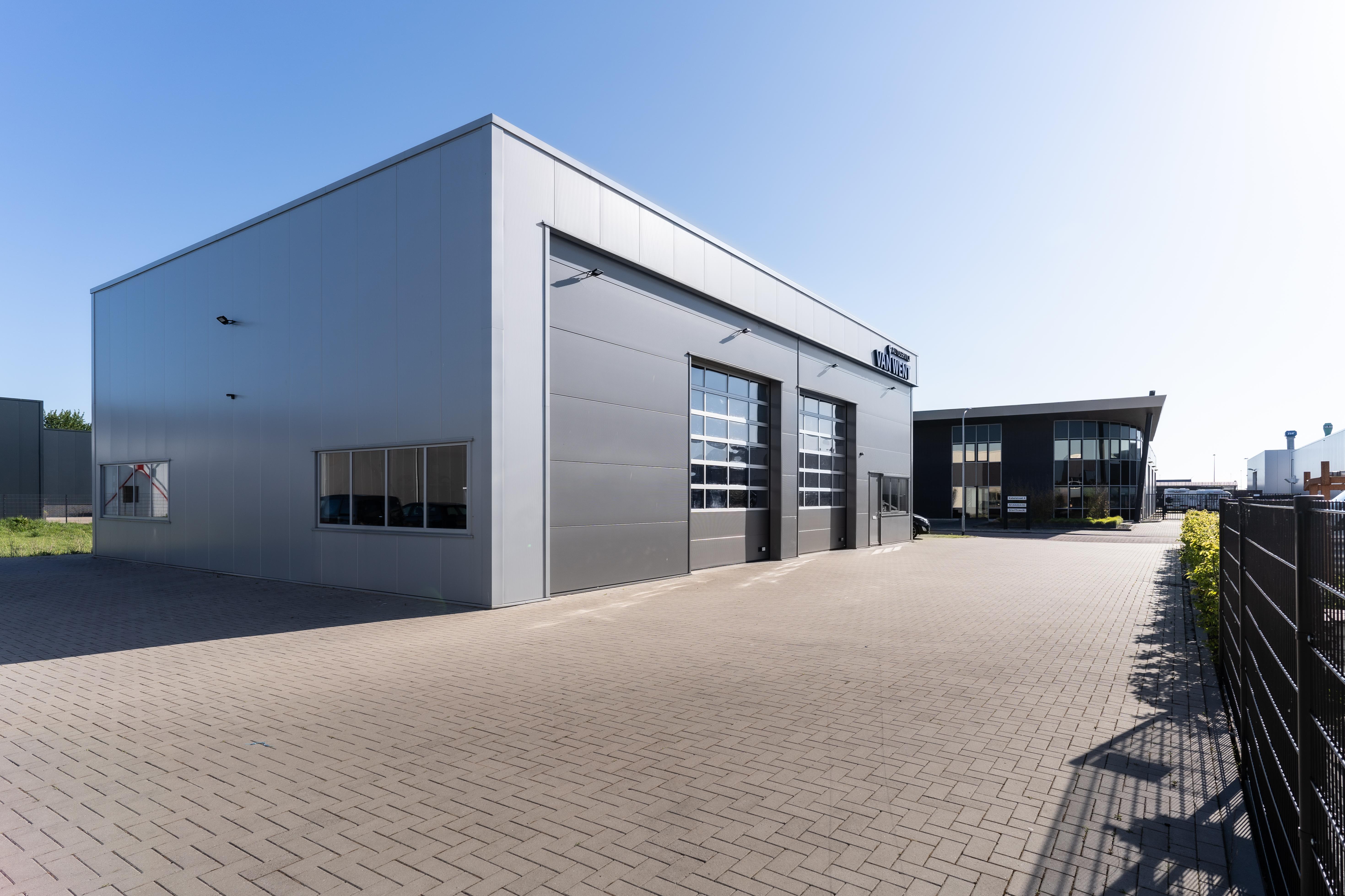 Nieuwbouw bedrijfsruimte / werkplaats